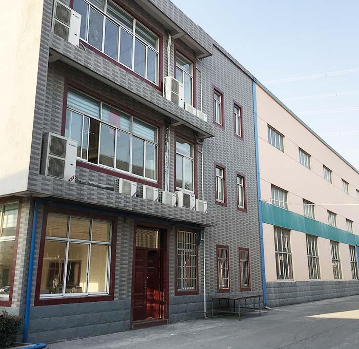 Edificio de laboratorio Trioflor